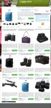 Amazon Luggage Store Theme
