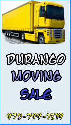 Durango Moving Sale