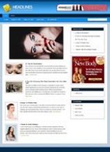 Beauty Tips Niche Blog (Wordpress Theme)