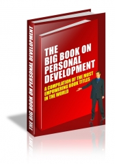 Big Book Personal Development