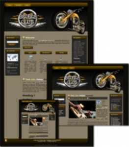 Bikers Club Template Package