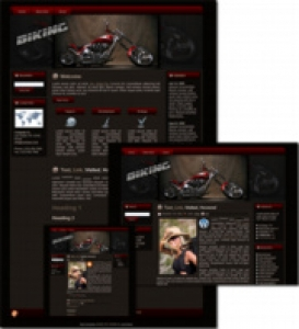 Biking Template Package