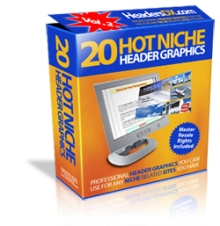 20 Hot Niche Headers V2