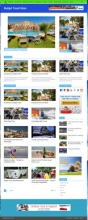 Budget Travel Blog Theme Wordpress