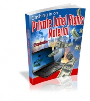 Cashing In On Private Label Rights Material