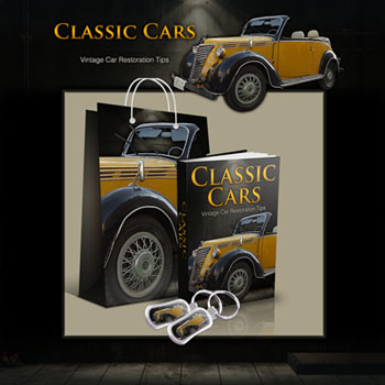 Classic Cars Template & eBook