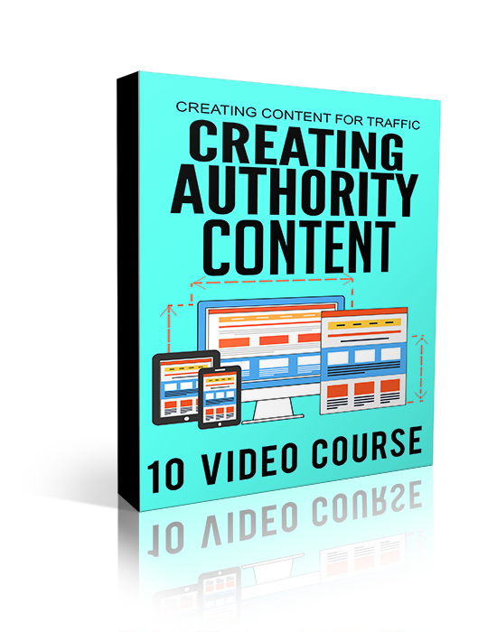 Creating Authority Content ( Video )