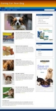 Dog Care Niche Blog (Wordpress Theme)