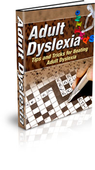 Adult Dyslexia - with Adsense Site