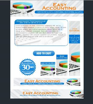 Easy Accounting HTML Template