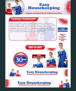 Easy House Keeping HTML Template