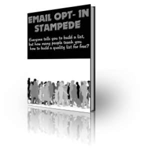 Email Opt-In Stampede