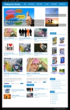 Find Your Passion Blog Theme