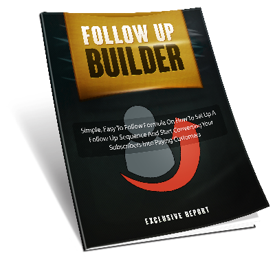 Follow Up Builder ( FREE ) - Click Image to Close