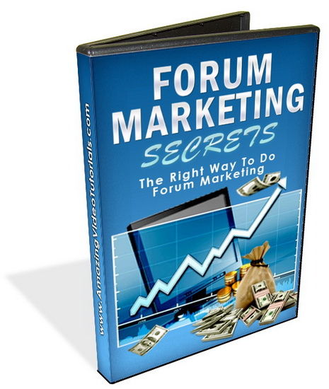 Forum Marketing Secrets Videos & eBook