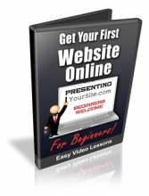 Get Your First Website Online (videos)