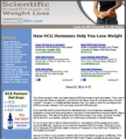 HCG Diet Website - PLR