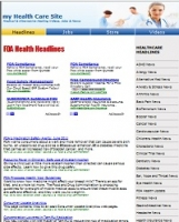 Health Care Website - PLR
