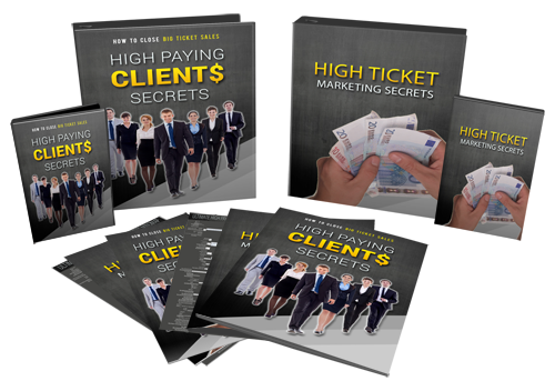 High Paying Clients Secrets Videos + Audios