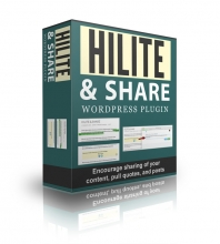 Hilite And Share Wordpress Plugin