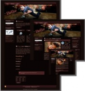 HipHop HTML WP & Blogger Templates