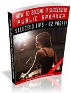 How to Become Successful Public Speaker