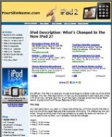 iPad 2 Website - PLR