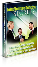 Joint Venture Success Secrets