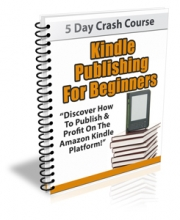 Kindle Publishing For Beginners (5 day lessons)