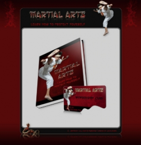 Martial Arts Template & eBook