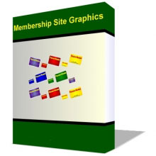 Membership Site Graphic Pack