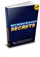 Membership Site In 48 Hours Or Less