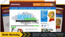 Mobile Marketing Instant Niche Blog