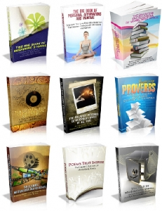 Pack of 9 Inspirational Words Ebooks