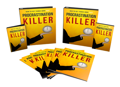Procrastination Killer ( Ebook & Videos )