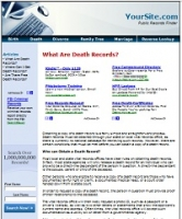 Public Records Site - PLR