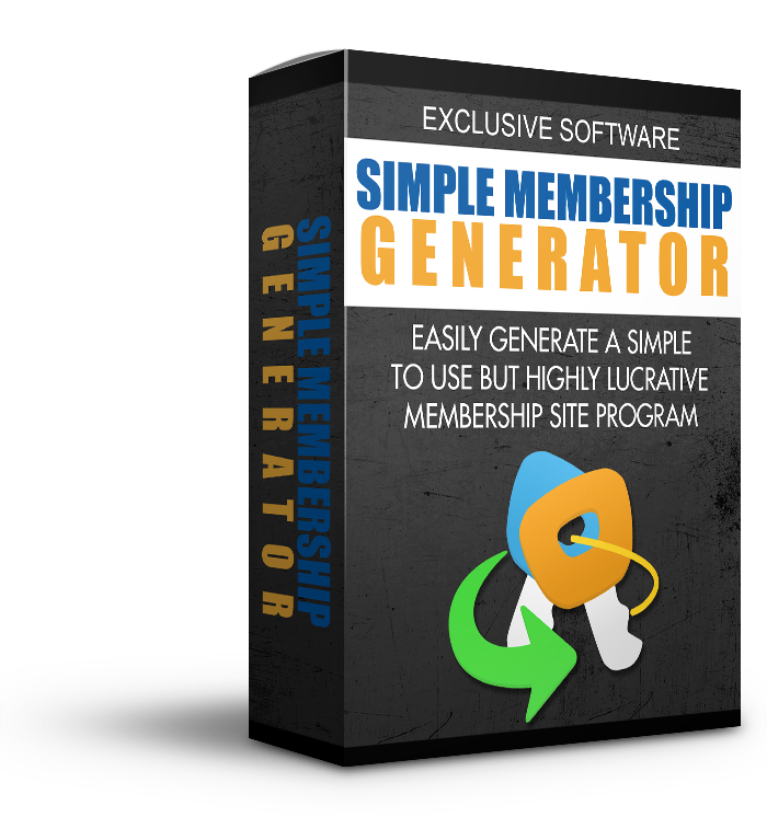 Simple Membership Generator Software (FREE)