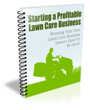 Starting Profitable Lawn Care Business