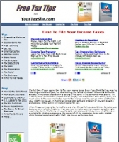 Taxes Site - PLR