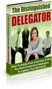 The Distinguished Delegator (eBook & Audios)