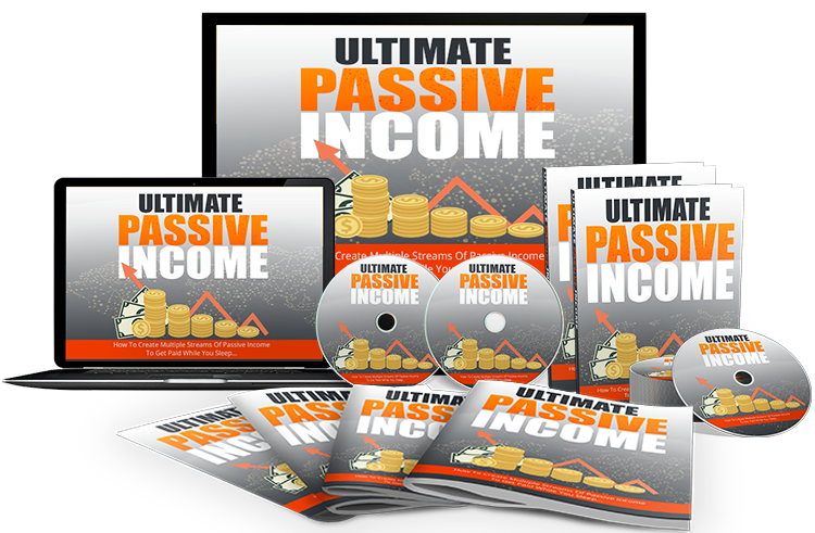 Ultimate Passive Income Gold Pack ( vidoes )