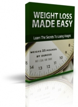 Weight Loss Made Easy (report)
