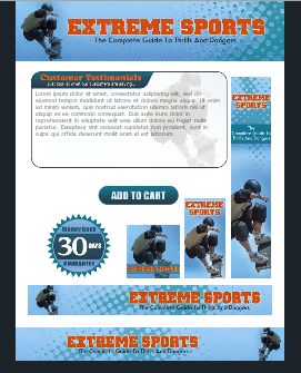 WP & HTML Template Extreme Sports