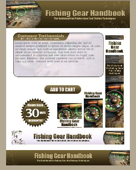 WP & HTML Template Fishing Gear