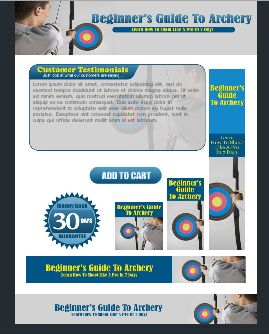 WP & HTML Template Guide To Archery