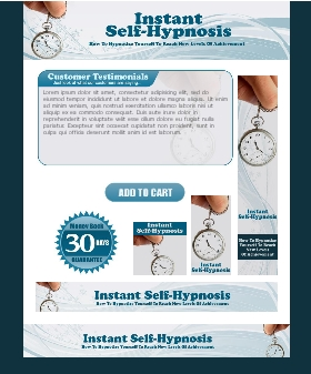 WP & HTML Template Self Hypnosis