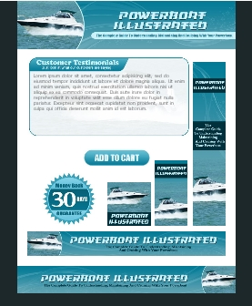 WP & HTML Template Powerboat Illustrated