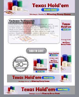WP & HTML Template Texas Hold'em