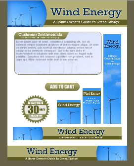 WP & HTML Template Wind Energy