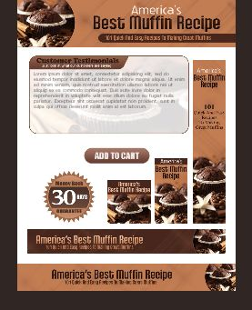 WP & HTML Template Best American's Muffin